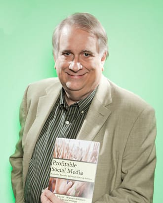 Warren Whitlock with Social Media Book