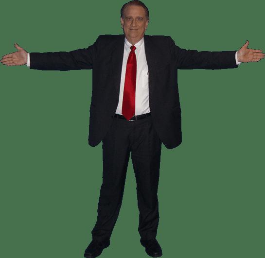Warren Whitlock open arms